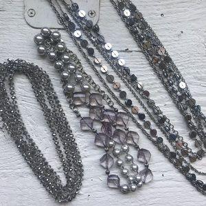 Lot of 3 LOFT Necklaces